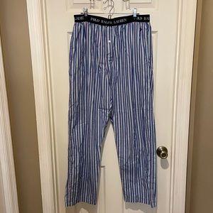 POLO Ralph Lauren Sleepwear Pants Men's L Striped